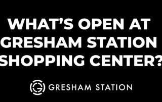 list of tenants hours at Gresham Station